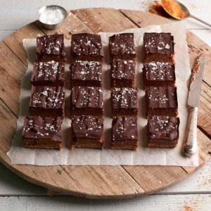 Almond And Chocolate Squares