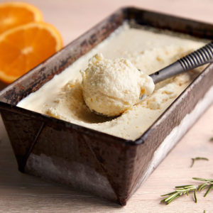 Swan Recipe Frozen Yoghurt Orange Rosemary Square